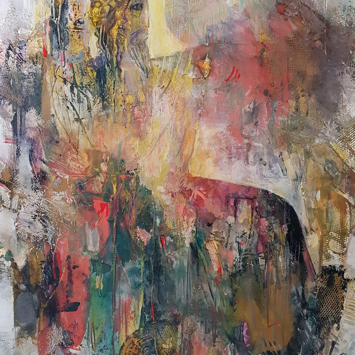 010 Poseidon acryloil on canvas 100x80cm