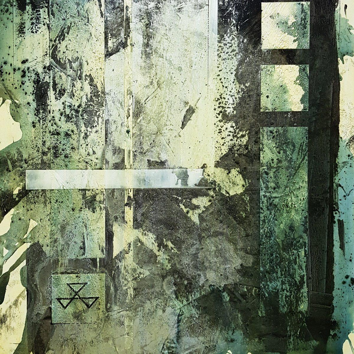 011 Masonski sledi acryloil on canvas 80x70cm