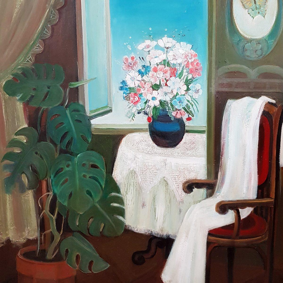 02 Interior oil on canvas 80x100cm