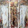 021 Vratata na Raya acryloil on canvas 100x100cm