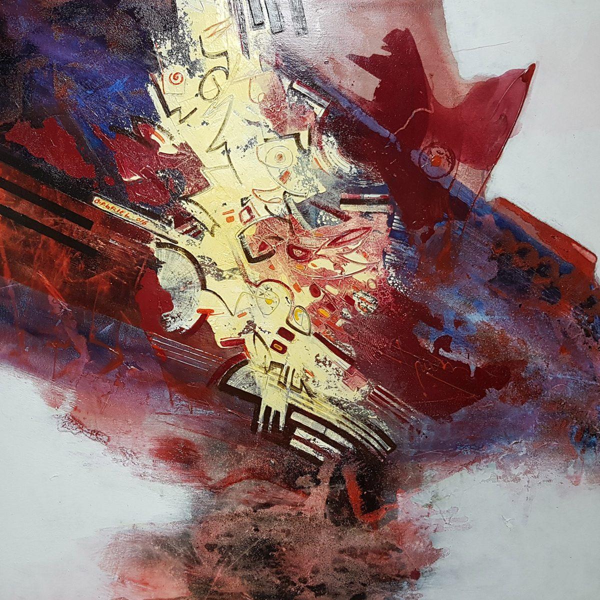 06 Tzveten san acryloil on canvas 100x100cm